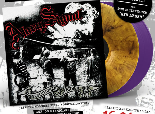 "PRE-ORDER: ALARMSIGNAL ""Revolutionäre sterben nie"" lim. col. LP (+Digital) (Release: 16.02.18)"