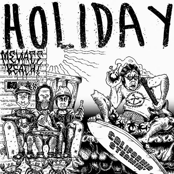 HOLIDAY-CaliforniaSteamin_Cover600px