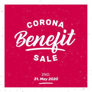 CORONA BENEFIT SALE