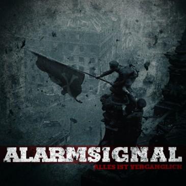 "ALARMSIGNAL ""Alles ist vergänglich"" LP [lim. repress – red vinyl]"