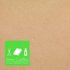 """AE028 · INNER CONFLICT """"Schere Klebstoff Papier"""" 10inch"""