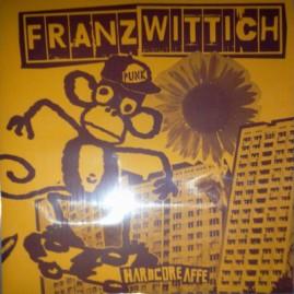 "AE015 · FRANZ WITTICH ""Hardcoreaffe"" LP"