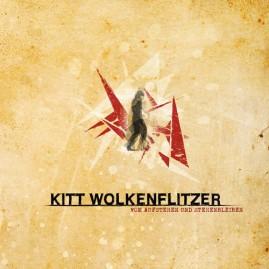 """AE037 · KITT WOLKENFLITZER """"Vom Aufstehen und Stehenbleiben"""" LP"""