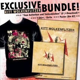 """KITT WOLKENFLITZER """"Bundle"""" [Album+Girlie+Poster]"""