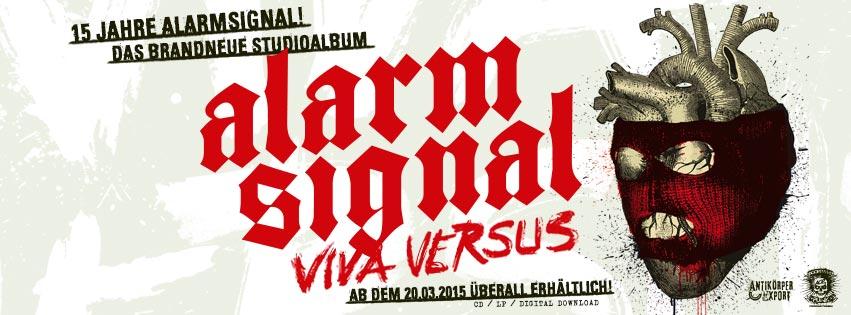"""ALARMSIGNAL """"Viva Versus"""" LP / CD"""