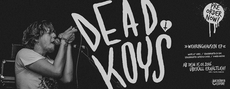 """DEAD KOYS """"Wehringhausen"""" 12inch EP"""