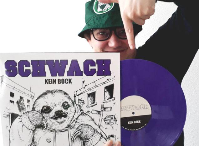 """SCHWACH """"Kein Bock"""" LP · 2nd Press Out Now!"""