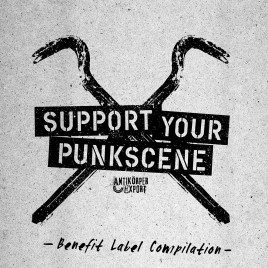 """SUPPORT YOUR PUNKSCENE"" Antikoerper-Export Benefit Label Compilation (Digital)"