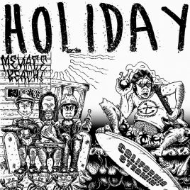 "HOLIDAY ""California Steamin"" lim. col. LP [+Download]"
