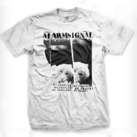"ALARMSIGNAL ""No Justice? No Peace!"" T-Shirt"