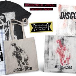 """DISCO//OSLO """"Tyke"""" LP / CD Bundle (limitiert!)"""