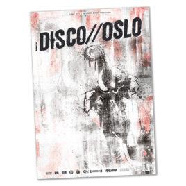 """DISCO//OSLO """"Tyke"""" Poster A1"""