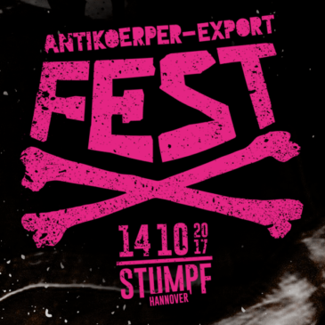 ANTIKOERPER-EXPORT Labelfest 2017