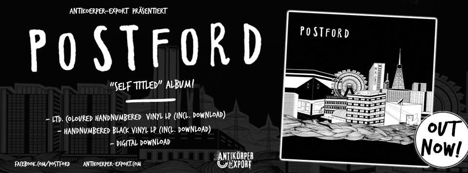 """POSTFORD """"s/t"""" LP"""