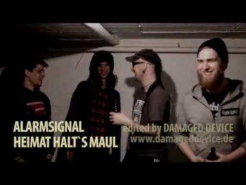 "ALARMSIGNAL ""Heimat Halt´s Maul"" [official] - Antikörper-Export"
