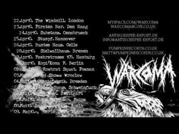 WAR COMA - Tour Trailer